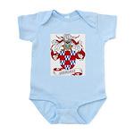 Quinones Family Crest Infant Creeper
