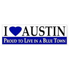 I Love Austin (bumper sticker)