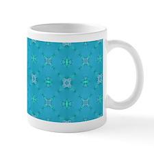 Blue Jewels Lace Mug