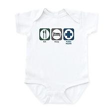 Eat Sleep Public Health Infant Bodysuit