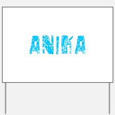 Anika Faded (Blue) Yard Sign
