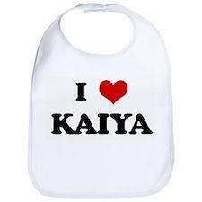 I Love KAIYA Bib