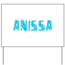 Anissa Faded (Blue) Yard Sign