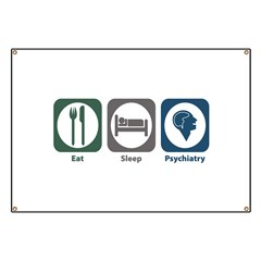 Eat Sleep Psychiatry Banner