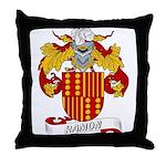 Ramon Family Crest Throw Pillow