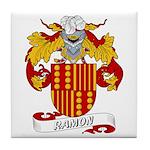 Ramon Family Crest Tile Coaster