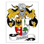 Ramos Family Crest Small Poster