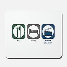 Eat Sleep Props Master Mousepad