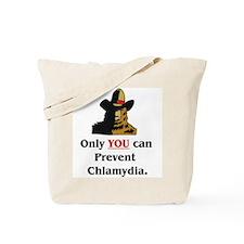 """""""Prevent Chlamydia"""" Tote Bag"""