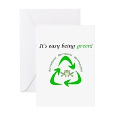 Cute Recycling Greeting Card