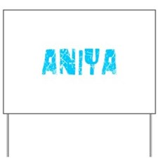 Aniya Faded (Blue) Yard Sign