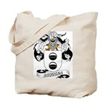 Requena Family Crest Tote Bag
