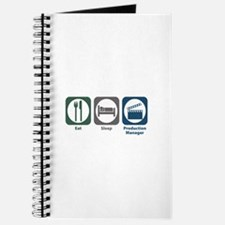 Eat Sleep Production Manager Journal