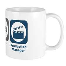 Eat Sleep Production Manager Small Mug