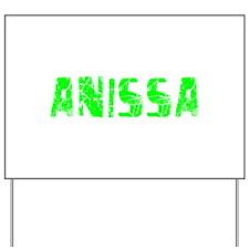 Anissa Faded (Green) Yard Sign