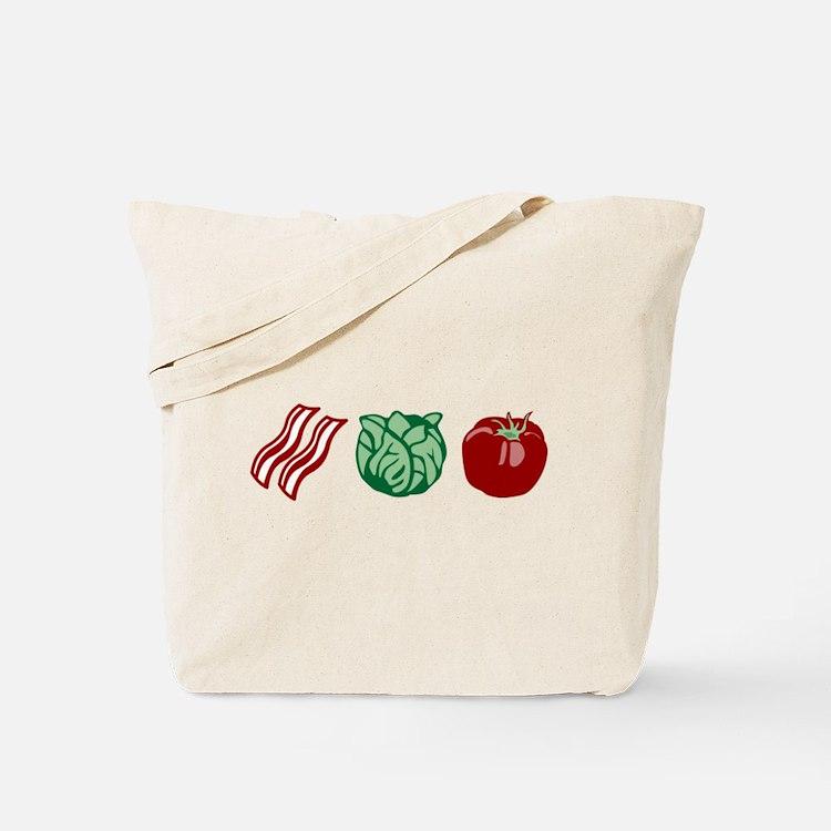 BLT Sandwich Bacon Lettuce Tomato Tote Bag