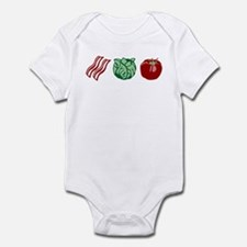 BLT Sandwich Bacon Lettuce Tomato Infant Bodysuit