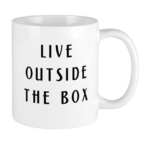 Yurt - Live Outside the Box Mug