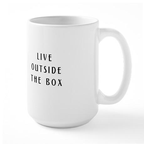 Yurt - Live Outside the Box Large Mug