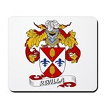 Revilla Family Crest Mousepad