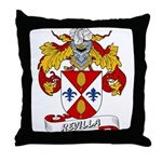 Revilla Family Crest Throw Pillow