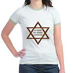 My Boss Is A Jewish Carpenter Jr. Ringer T-Shirt