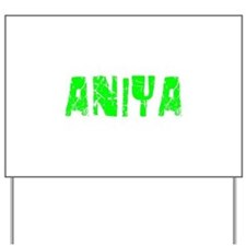 Aniya Faded (Green) Yard Sign