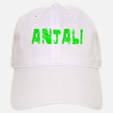 Anjali Faded (Green) Baseball Baseball Cap