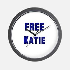 Free Katie from Tom Wall Clock