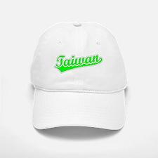 Retro Taiwan (Green) Baseball Baseball Cap