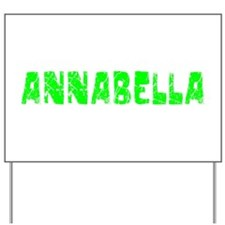 Annabella Faded (Green) Yard Sign
