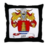 Rio Family Crest Throw Pillow