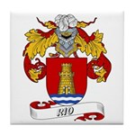 Rio Family Crest Tile Coaster