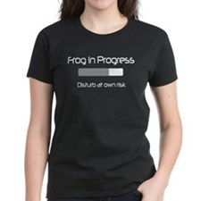 Frog in Progress: Disturb at Own Risk Women's Tee