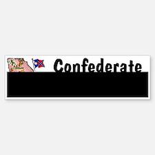 GA-Confederate! 1956 Bumper Bumper Bumper Sticker