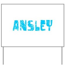 Ansley Faded (Blue) Yard Sign
