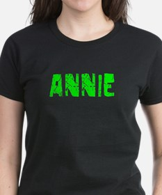 Annie Faded (Green) Tee