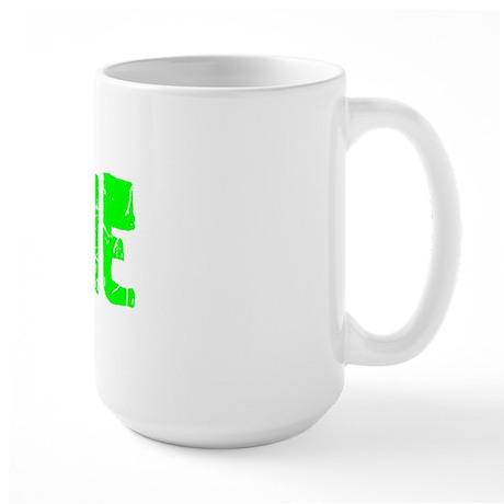 Annie Faded (Green) Large Mug