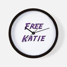 Free Katie Wall Clock