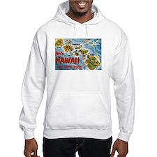 Hawaii Postcard Jumper Hoody