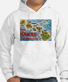 Hawaii Postcard Jumper Hoody