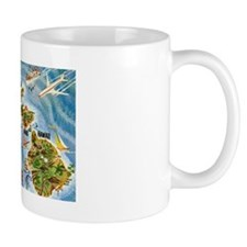 Hawaii Postcard Small Mug