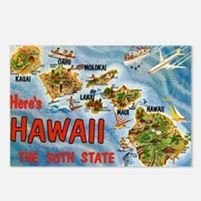 Hawaii Postcard Postcards (Package of 8)