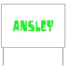 Ansley Faded (Green) Yard Sign