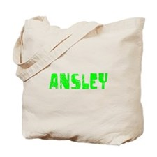 Ansley Faded (Green) Tote Bag