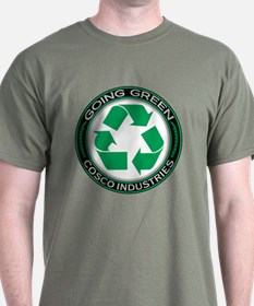 Going Green Recycle, Cosco Industries T-Shirt