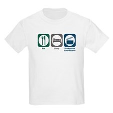 Eat Sleep Production Coordinator T-Shirt