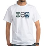 Eat Sleep Production Coordinator White T-Shirt