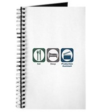Eat Sleep Production Assistant Journal