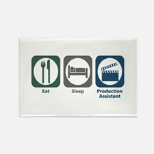 Eat Sleep Production Assistant Rectangle Magnet (1